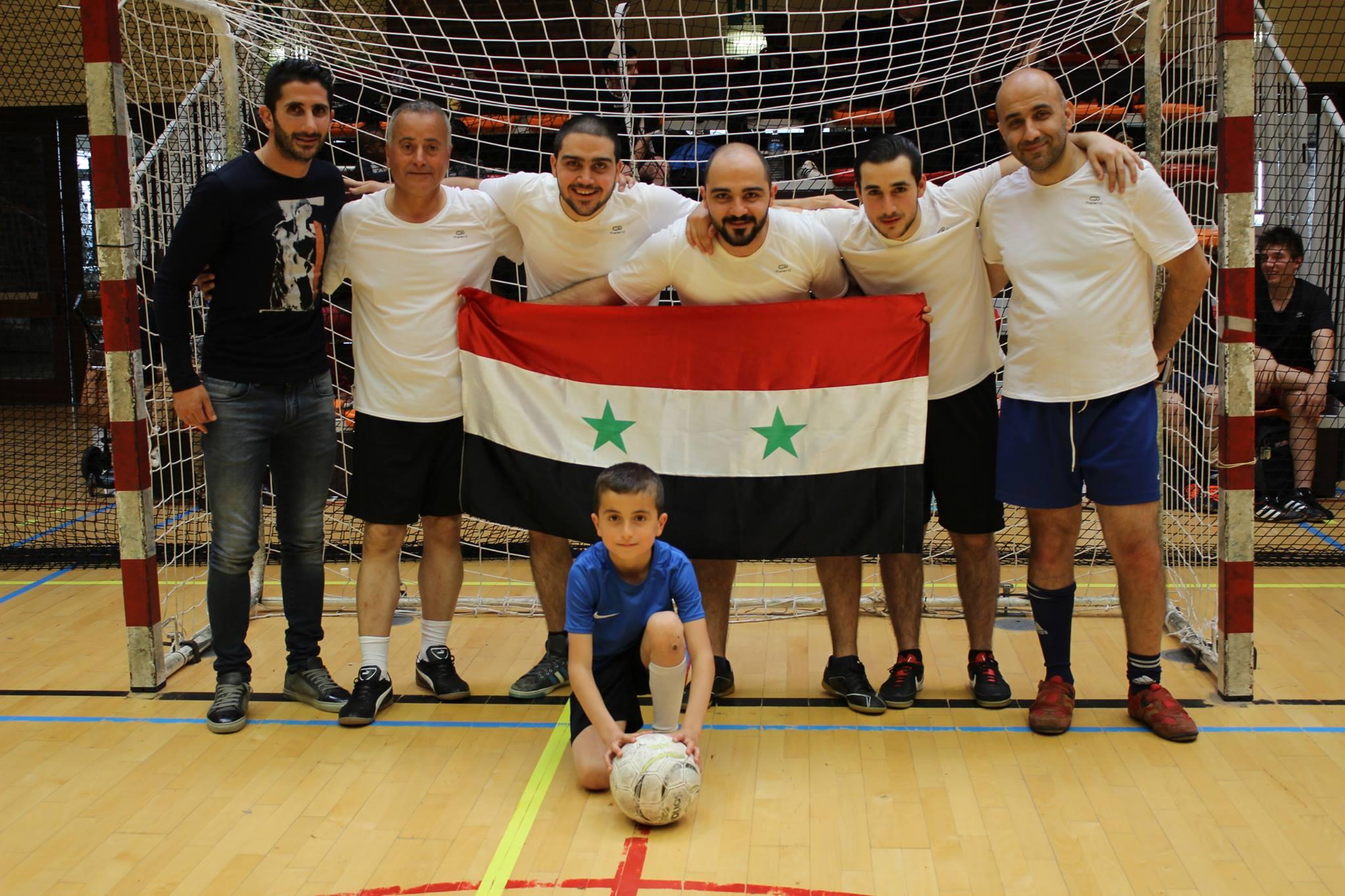 Photo groupe FC Syrie 2. du Tournoi