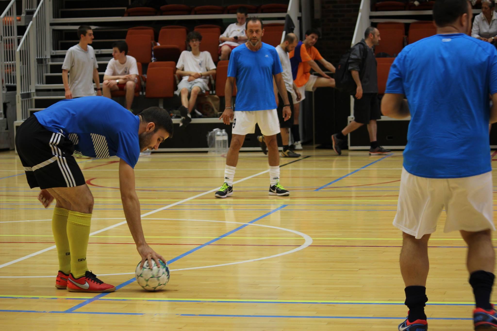 Squadra azzura en action