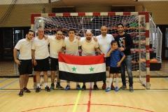 Photo de groupe FC Syrie du Tournoi